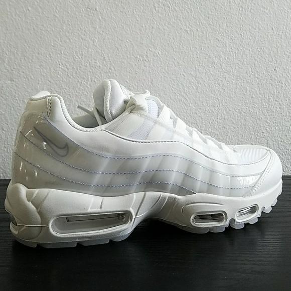 Nike Air Max 95 SE White 918413 102 Sz 8.5 New NWT